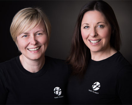 Leanne Panni and Stevie Tate-Bauer Take Flight Academy Directors